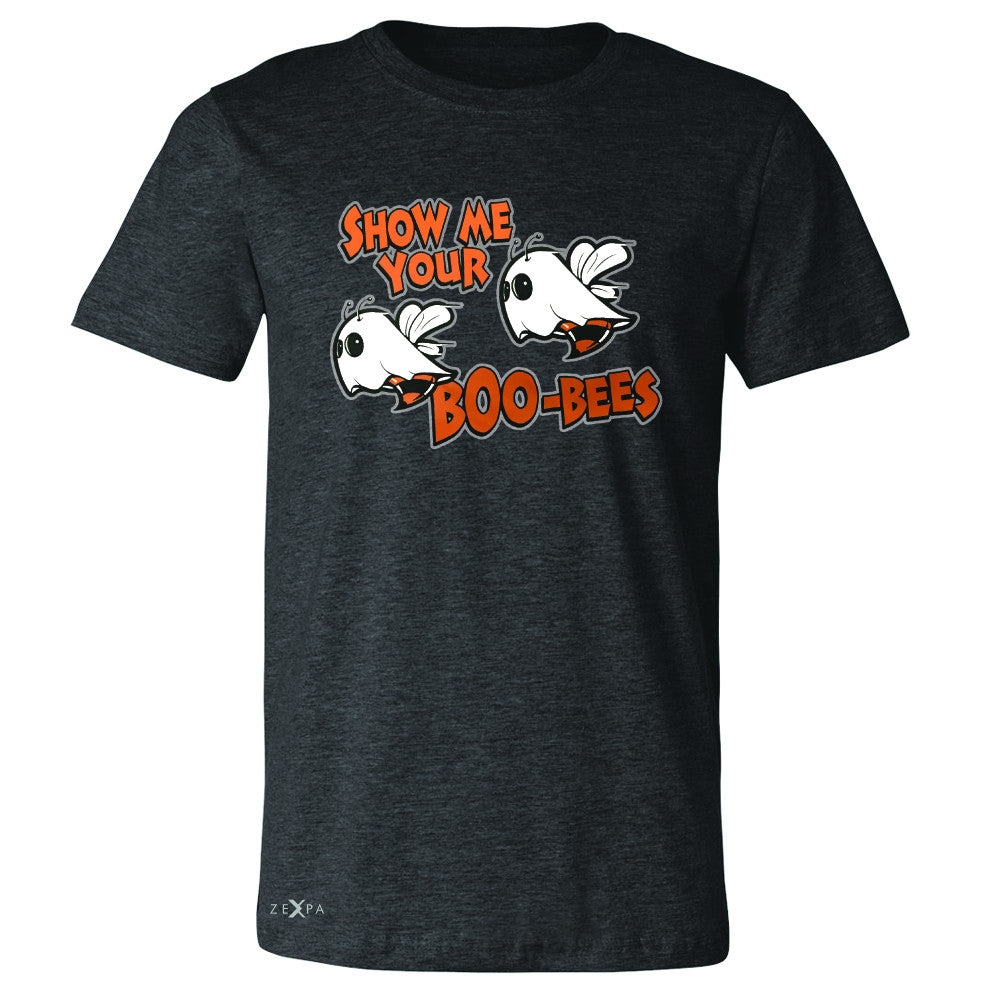 Show Me Your Boo-Bees Ghost  Men's T-shirt Halloween Costume Tee - Zexpa Apparel - 2