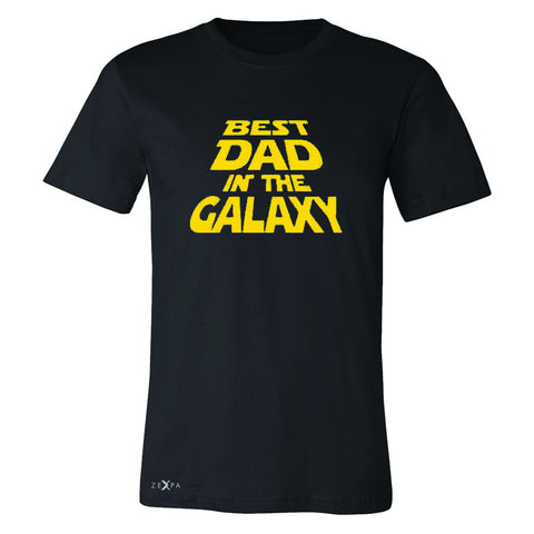 Best Dad In The Galaxy Men's T-shirt Father's Day Tee - Zexpa Apparel Halloween Christmas Shirts