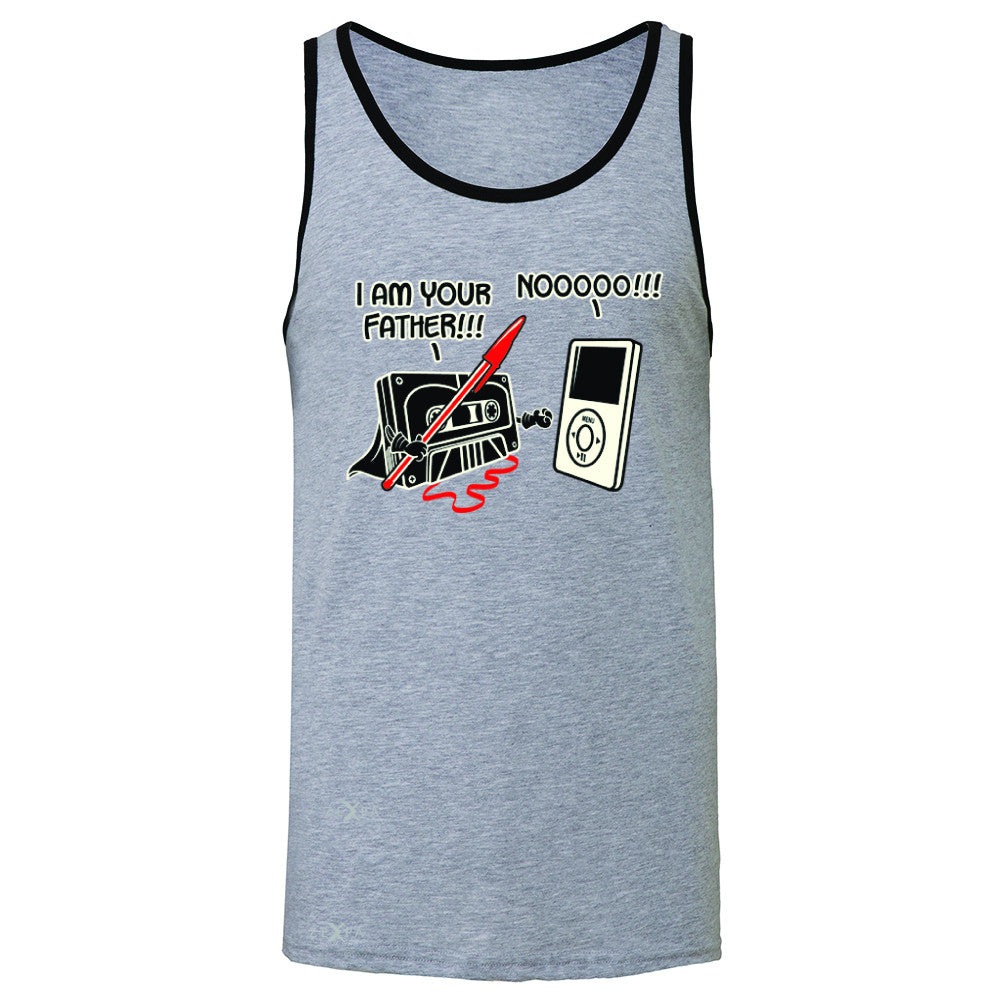 I'm Your Father - Cassette iPod SW Men's Jersey Tank Father's Day Sleeveless - Zexpa Apparel - 2