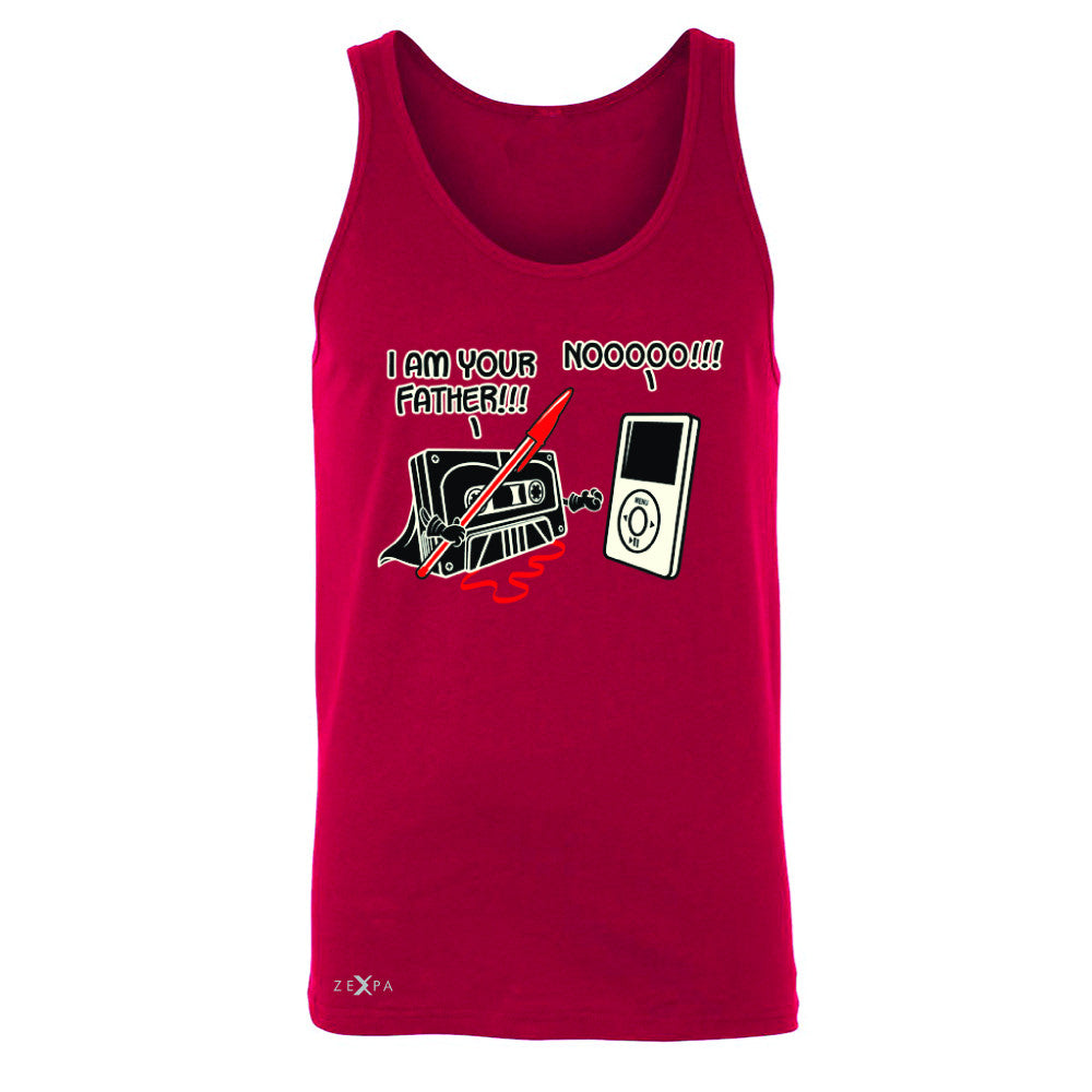 I'm Your Father - Cassette iPod SW Men's Jersey Tank Father's Day Sleeveless - Zexpa Apparel - 4