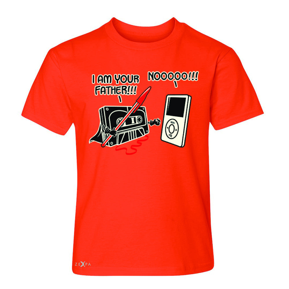 I'm Your Father - Cassette iPod SW Youth T-shirt Father's Day Tee - Zexpa Apparel - 2