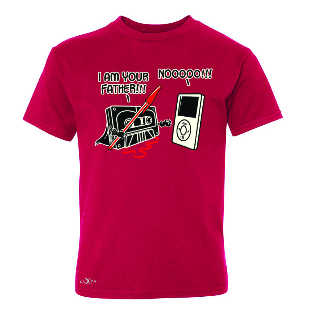 I'm Your Father - Cassette iPod SW Youth T-shirt Father's Day Tee - Zexpa Apparel - 4