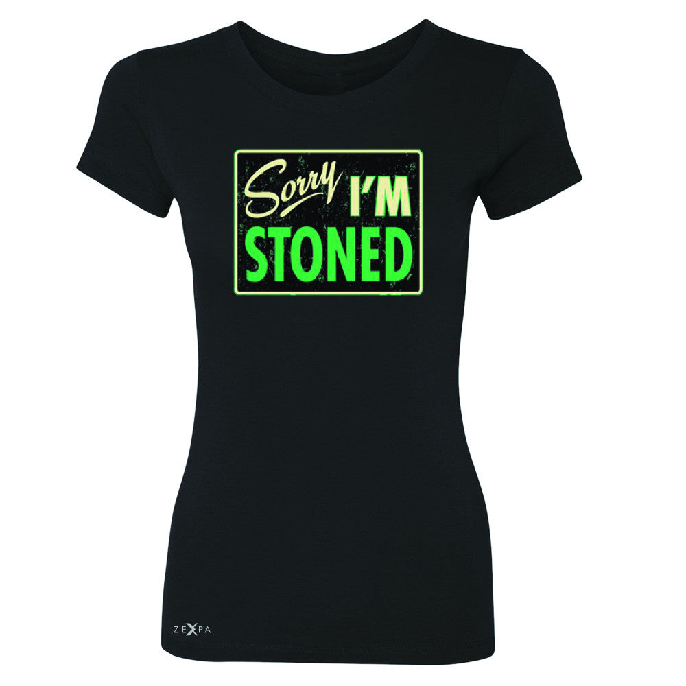 I'm Stoned Weed Smoker Women's T-shirt Fun Tee - Zexpa Apparel - 1