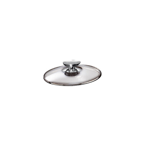 "007016 - SignoCast Glass Lid w/Stainless Knob for 6.75"" Berndes"