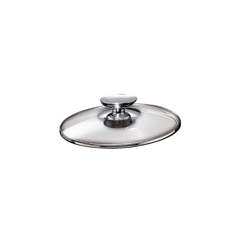 "007020 - SignoCast Glass Lid w/Stainless Knob for 8.5"" Berndes"