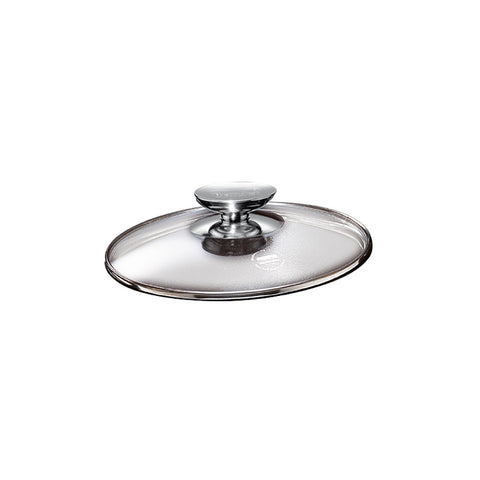 007024 - SignoCast Glass Lid w/Stainless Knob for 10 Inch Berndes