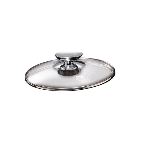 "007028 - Glass Lid w/Stainless Knob for 11.5"" Berndes"