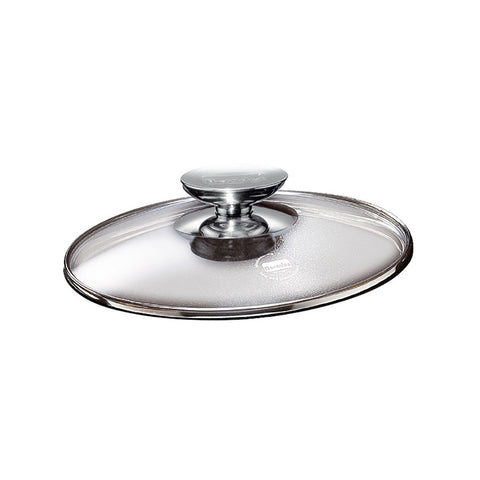 "007032 - SignoCast Glass Lid w/Stainless Knob for 13"" Berndes"