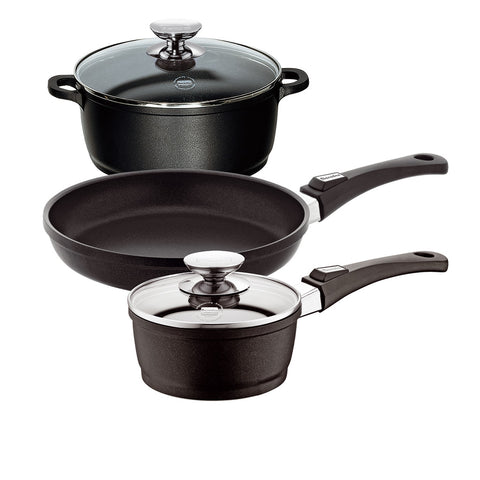 631105W Vario Click Non-Stick Induction 5 Piece Cookware Set Berndes