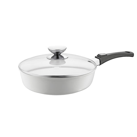 632125L Vario Click Pearl Ceramic Induction 2.5 Quart Saute Pan with Lid Berndes
