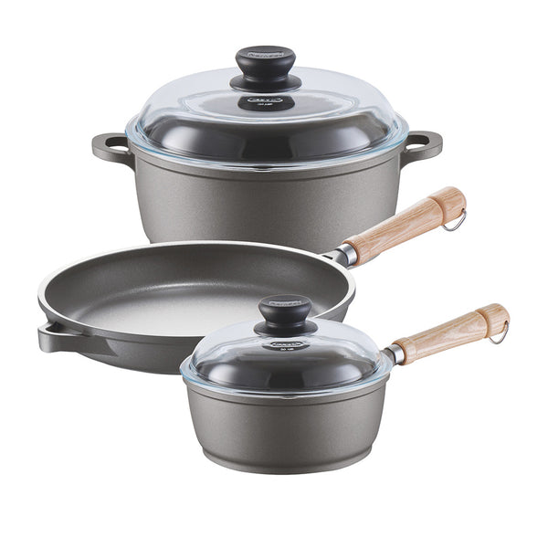 671205w Tradition Induction 5 Piece Cookware Set Berndes