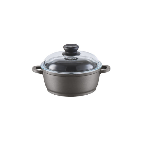 671206 Tradition Induction 2.5 Quart Dutch Oven with Glass Lid Berndes