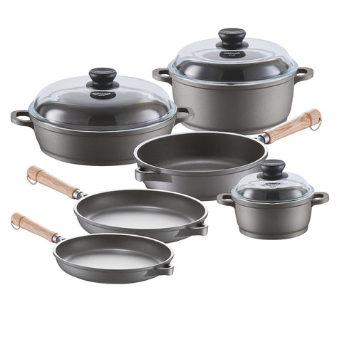 671209W Tradition Induction 9 Piece Cookware Set Berndes