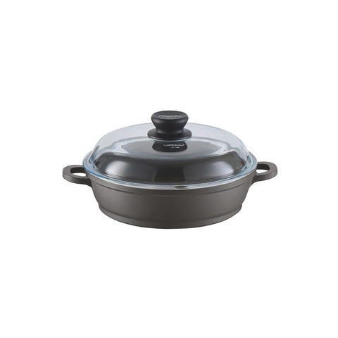 671245 Tradition Induction 2.5 Quart Sauté Casserole with Glass Lid Berndes