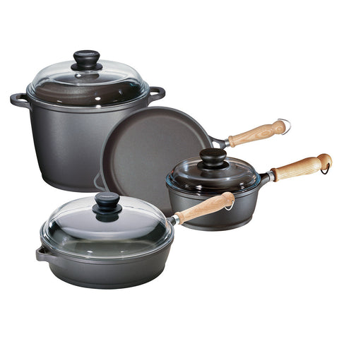 674005 Tradition 7 Piece Cookware Set Berndes