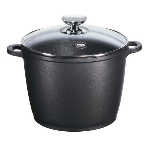 697485 SignoCast Nonstick 7.0 Quart Stock Pot with Lid Berndes