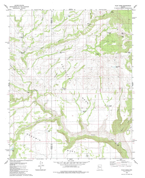 us topo - PILOT KNOB, Arizona 7.5' - Wide World Maps & MORE! - Map - Wide World Maps & MORE! - Wide World Maps & MORE!