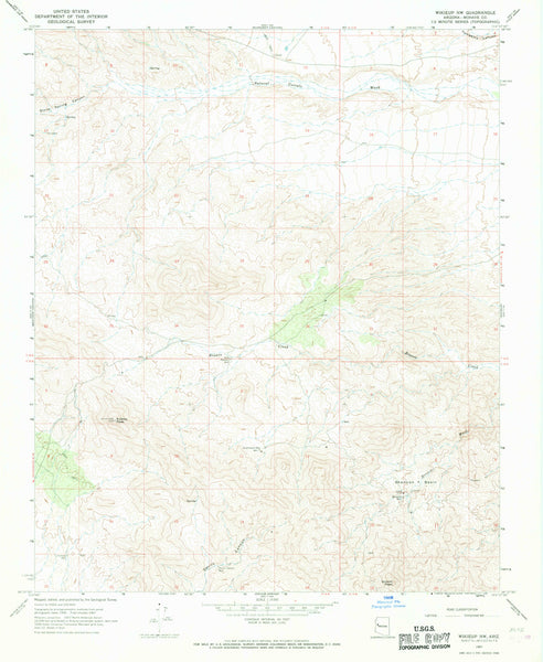WIKIEUP NW, Arizona 7.5' - Wide World Maps & MORE!