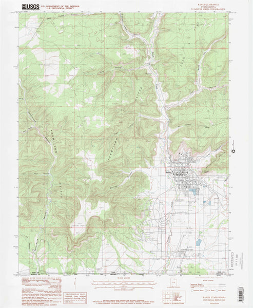 us topo - KANAB, UT-AZ (7.5'×7.5' Topographic Quadrangle) - Wide World Maps & MORE! - Map - Wide World Maps & MORE! - Wide World Maps & MORE!