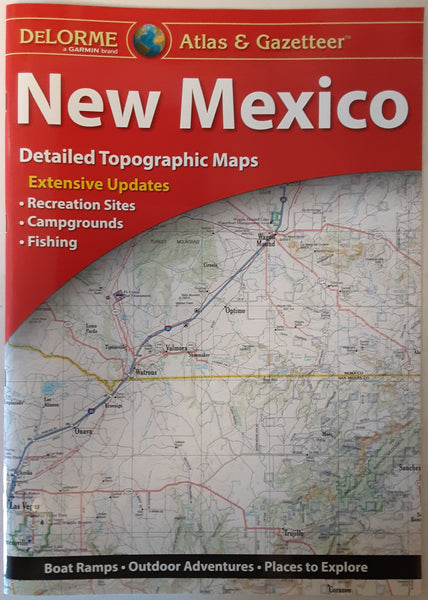 DeLorme New Mexico Atlas & Gazetteer - Wide World Maps & MORE!