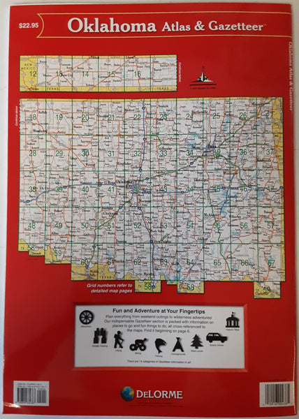 DeLorme Oklahoma Atlas & Gazetteer - Wide World Maps & MORE!