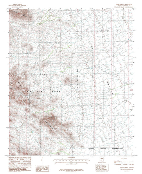 JOHNSON WELL, Arizona 7.5' - Wide World Maps & MORE!
