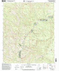 Bear Mountain, Arizona (7.5'×7.5' Topographic Quadrangle) - Wide World Maps & MORE! - Map - Wide World Maps & MORE! - Wide World Maps & MORE!
