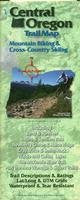 Central Oregon Mountain Biking Trail Map With Cross-Country Skiing