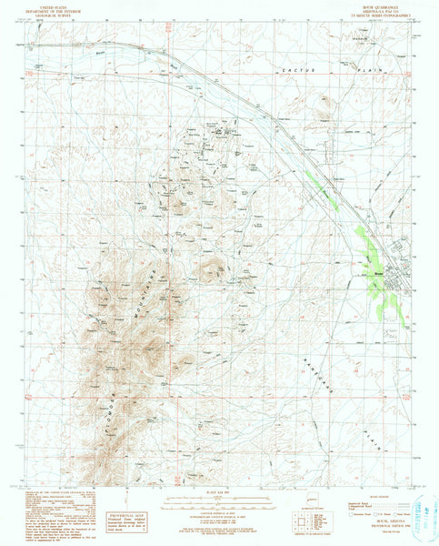 BOUSE, Arizona 7.5' - Wide World Maps & MORE! - Map - Wide World Maps & MORE! - Wide World Maps & MORE!