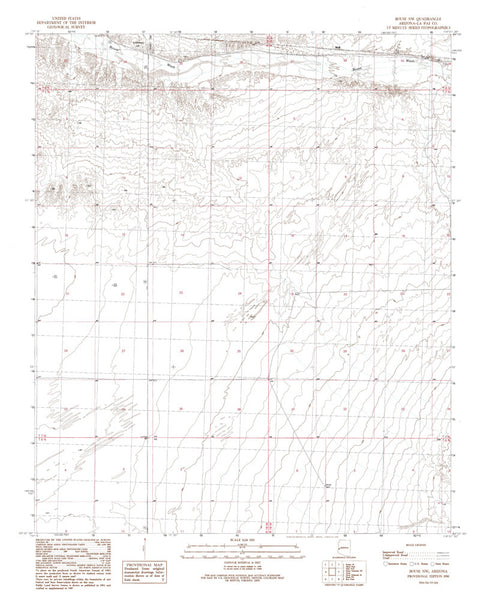 us topo - BOUSE NW, Arizona 7.5' - Wide World Maps & MORE! - Map - Wide World Maps & MORE! - Wide World Maps & MORE!