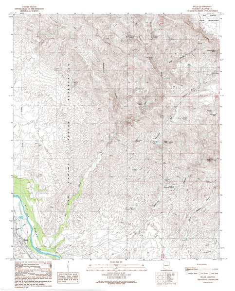 BYLAS, Arizona 7.5' - Wide World Maps & MORE! - Map - Wide World Maps & MORE! - Wide World Maps & MORE!