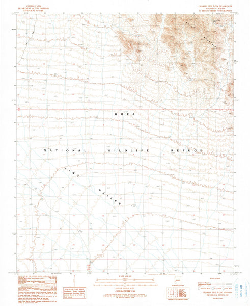 us topo - CHARLIE DIED TANK, Arizona (7.5'×7.5' Topographic Quadrangle) - Wide World Maps & MORE! - Map - Wide World Maps & MORE! - Wide World Maps & MORE!