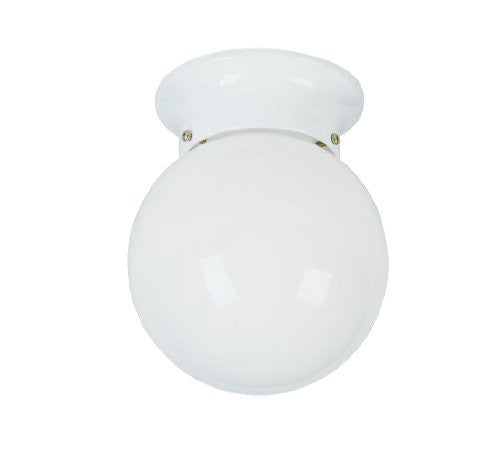 Livex Lighting 7004 Ceiling Mounts 1 Light Flush Mount Ceiling Fixture,