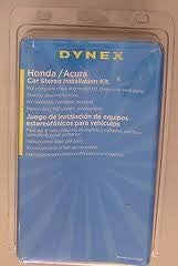 Dynex Honda/Acura car stereo installation Kit