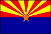 us topo - Arizona State Flag - 3' x 5' - Wide World Maps & MORE! - Flag - Wide World Maps & MORE! - Wide World Maps & MORE!
