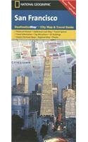 National Geographic San Francisco Destination City Map