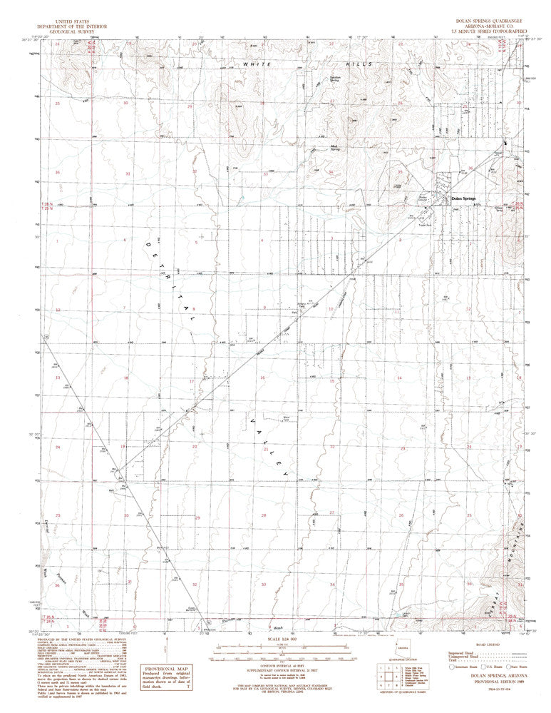 Dolan Springs Arizona Map.Dolan Springs Arizona 7 5 Wide World Maps More