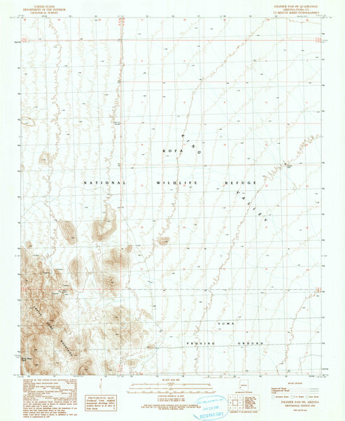 ENGESSER PASS SW, Arizona (7.5'×7.5' Topographic Quadrangle) - Wide World Maps & MORE! - Map - Wide World Maps & MORE! - Wide World Maps & MORE!