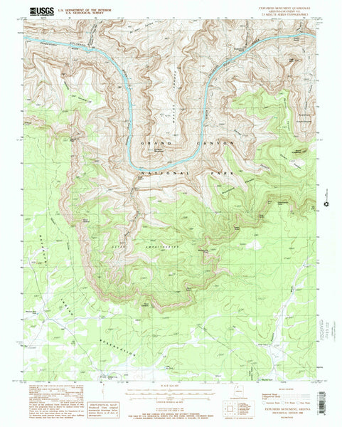 EXPLORERS MONUMENT, Arizona (7.5'×7.5' Topographic Quadrangle) - Wide World Maps & MORE! - Map - Wide World Maps & MORE! - Wide World Maps & MORE!