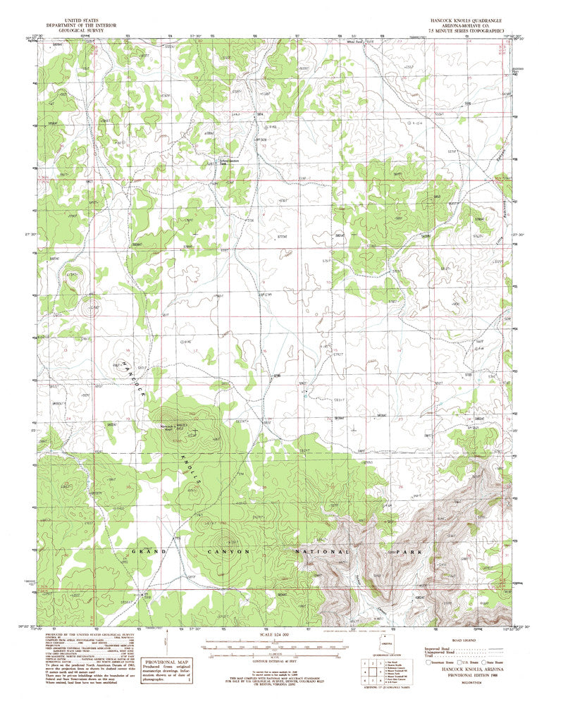 us topo - HANCOCK KNOLLS, Arizona 7.5' - Wide World Maps & MORE! - Map - Wide World Maps & MORE! - Wide World Maps & MORE!