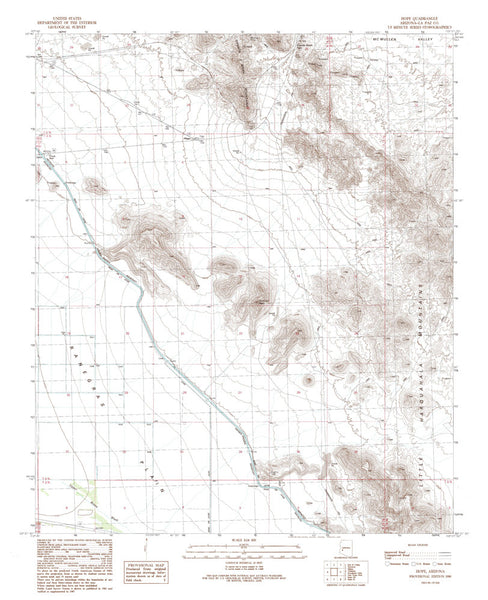 HOPE, Arizona 7.5' - Wide World Maps & MORE! - Map - Wide World Maps & MORE! - Wide World Maps & MORE!