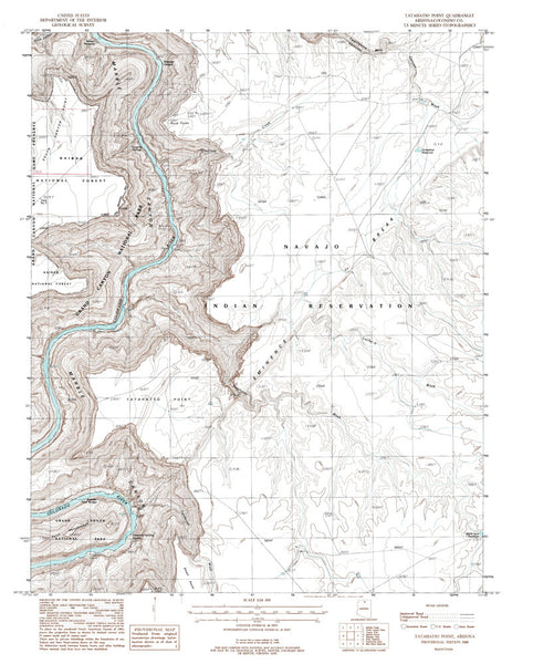 us topo - TATAHATSO POINT, Arizona 7.5' - Wide World Maps & MORE! - Map - Wide World Maps & MORE! - Wide World Maps & MORE!