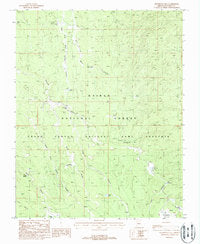 Telephone Hill, AZ 7.5'×7.5' PE 1988 [Map] [Jan 01, 2017] United States Geological Survey - Wide World Maps & MORE! - Map - Wide World Maps & MORE! - Wide World Maps & MORE!