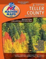 us topo - Teller Co, CO Atlas - Wide World Maps & MORE! - Office Product - MacVan Productions - Wide World Maps & MORE!