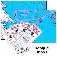 Baja California South (Pacific Side) - Wide World Maps & MORE! - Map - Fish-N-Map - Wide World Maps & MORE!