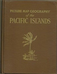 Picture map geography of the Pacific islands,