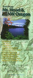 us topo - Trail Map, Mt. Hood & Northwest Oregon - Wide World Maps & MORE! - Book - Adventure Maps - Wide World Maps & MORE!