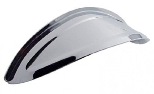 "us topo - 7-1/2"" Round Headlight Visor Shield, Chrome, Vintage, Car, Truck, Street Rod, EACH - Wide World Maps & MORE! - Automotive Parts and Accessories - UPI - Wide World Maps & MORE!"