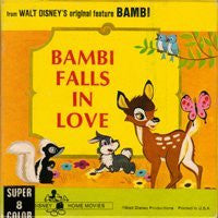 Bambi Falls in Love (8mm 5 Inch Reel Tape) (Super 8) - Wide World Maps & MORE! - Video - Wide World Maps & MORE! - Wide World Maps & MORE!