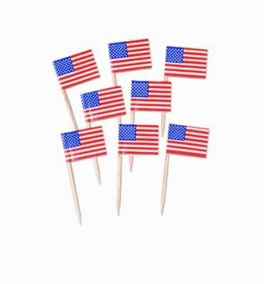 us topo - Usa Flag Picks - Wide World Maps & MORE! - Health and Beauty - Beistle - Wide World Maps & MORE!